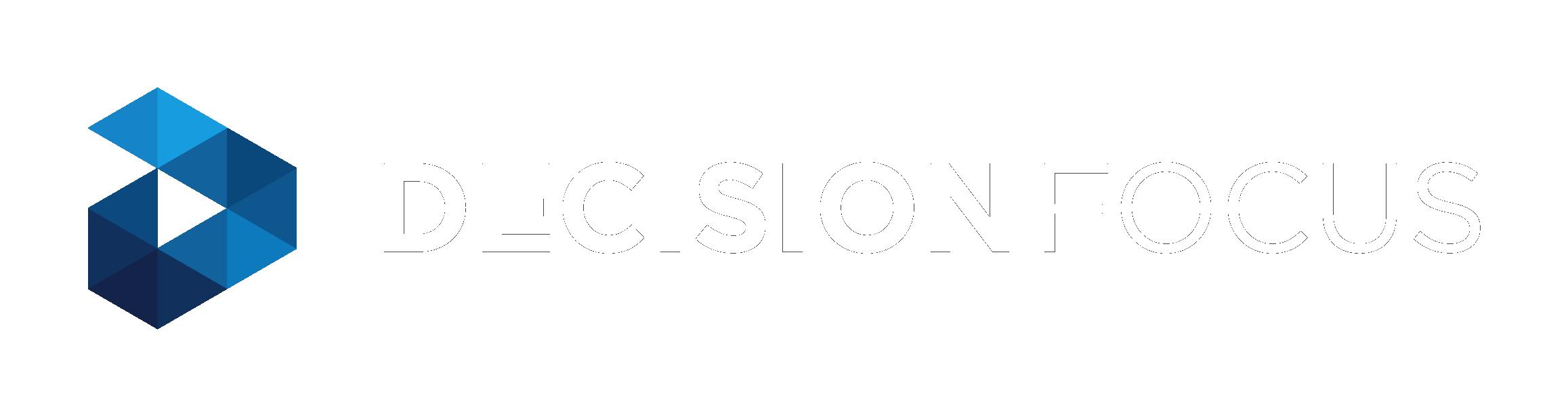 Decision Focus logo Blue H